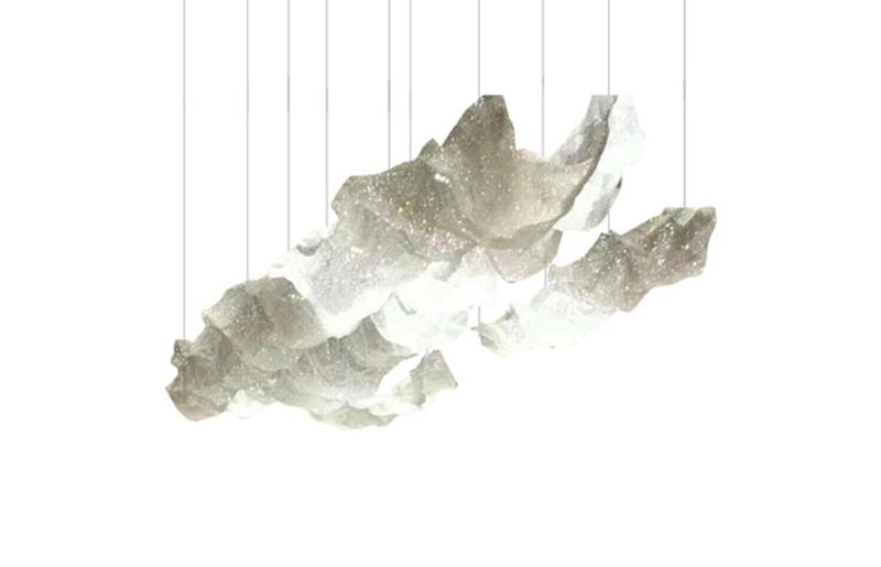 豪华别墅水晶吊灯