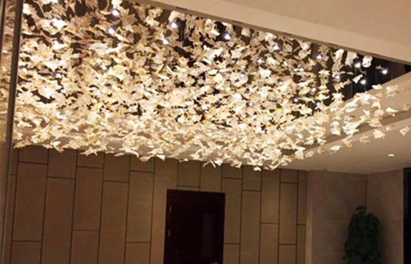 酒店工程水晶琉璃吊灯
