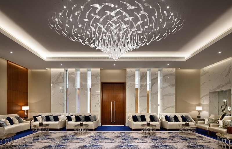 会议厅定制灯饰