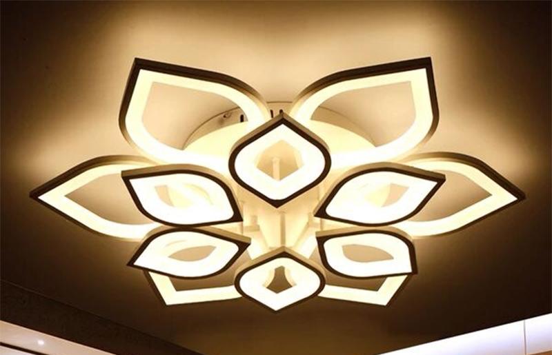 水晶灯厂家——花型别墅灯饰