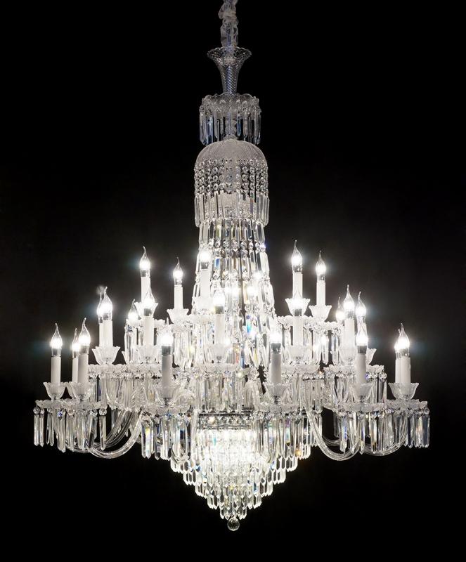 买灯之前看一看—水晶吊灯的优点和缺点