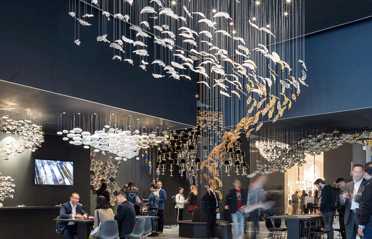 购物中心灯饰海洋之星吊灯 LV-007