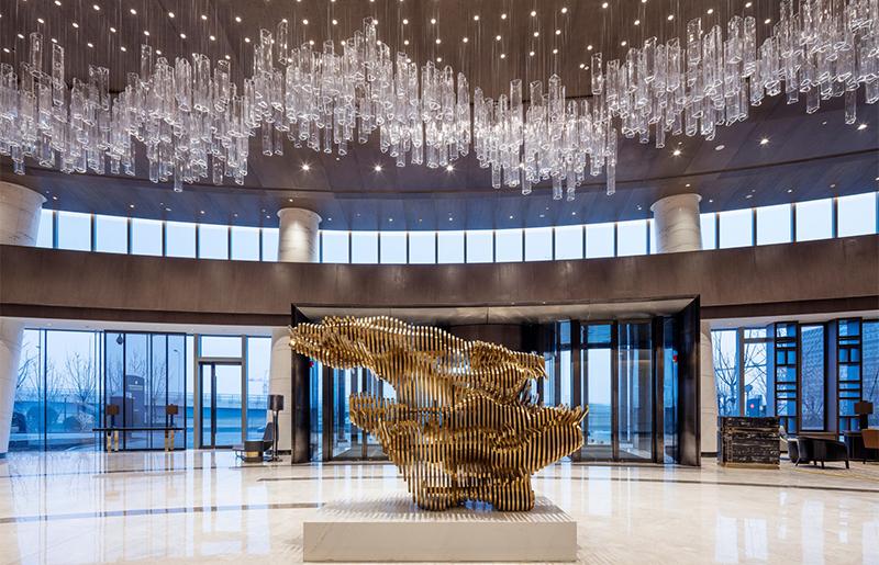 酒店工程灯饰轻奢水晶吊灯 LV-078