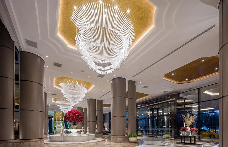 这几个预防酒店灯具吊灯的措施你需要了解