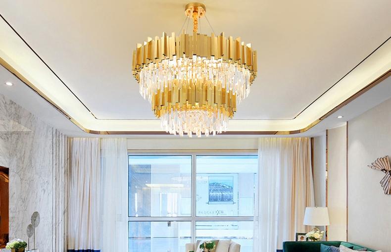 简约奢华客厅水晶吊灯