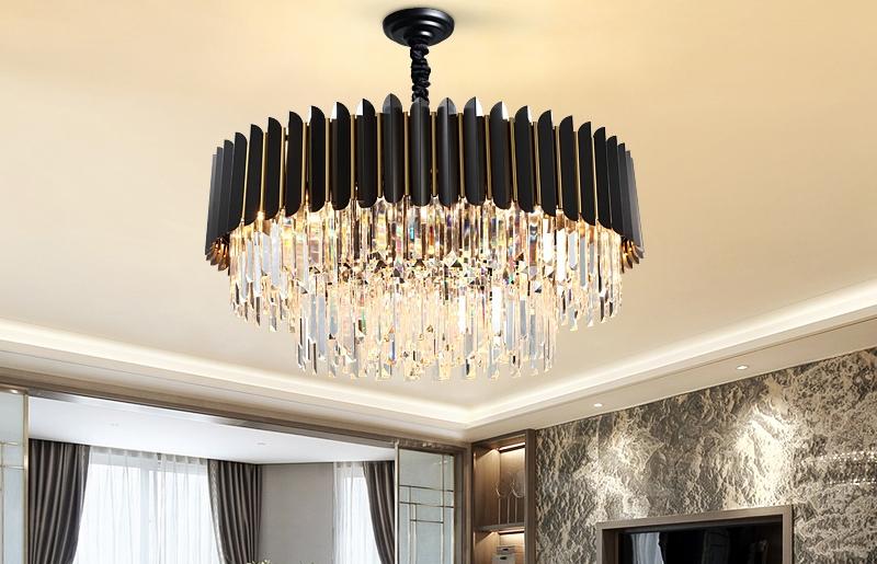 客厅轻奢欧式吊灯