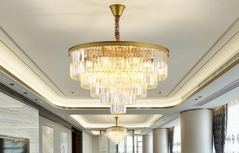 别墅水晶吊灯