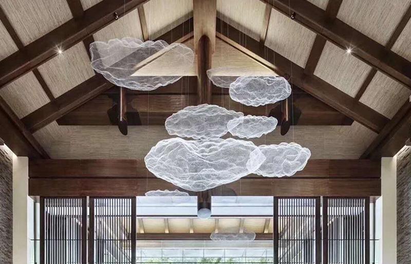 购物中心灯饰云朵吊灯 LV-020