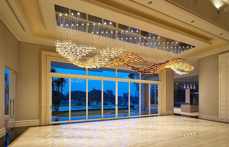 酒店工程灯饰创意水晶吊灯 LV-022