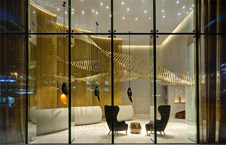 售楼部非标艺术创意吊灯 定制出一道亮丽的风景线