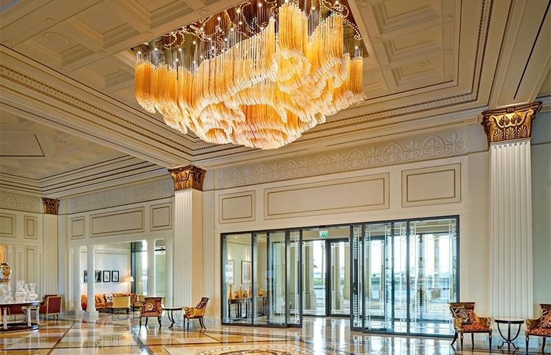 酒店水晶灯,怎么清洗才能够洗干净?